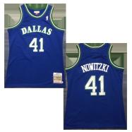 Dallas Mavericks Jersey Dirk Nowitzki #41 NBA Jersey 1998-99