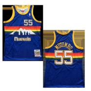 Denver Nuggets Jersey Dikembe Mutombo #55 NBA Jersey 1991-92