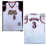 Philadelphia 76ers Jersey Iverson #3 NBA Jersey 1997-98