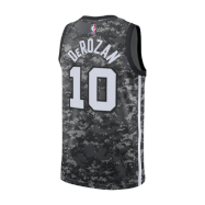 San Antonio Spurs Jersey DeMar DeRozan #10 NBA Jersey