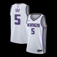 Sacramento Kings Jersey De'Aaron Fox #5 NBA Jersey