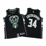 Milwaukee Bucks Jersey Giannis Antetokounmpo #34 NBA Jersey