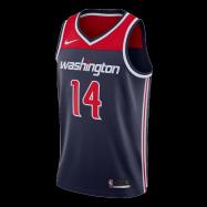 Washington Wizards Jersey Ish Smith #14 NBA Jersey