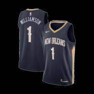 New Orleans Pelicans Jersey Zion Williamson #1 NBA Jersey 2019