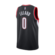 Portland Trail Blazers Jersey Damian Lillard #0 NBA Jersey 2020/21