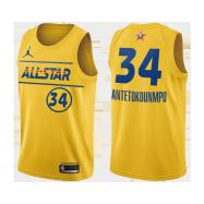 All Star Jersey Giannis Antetokounmpo #34 NBA Jersey 2021