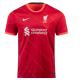 Liverpool Jersey Custom Home Soccer Jersey 2021/22