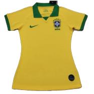 Brazil Custom Jersey Home Soccer Jersey 2020/21