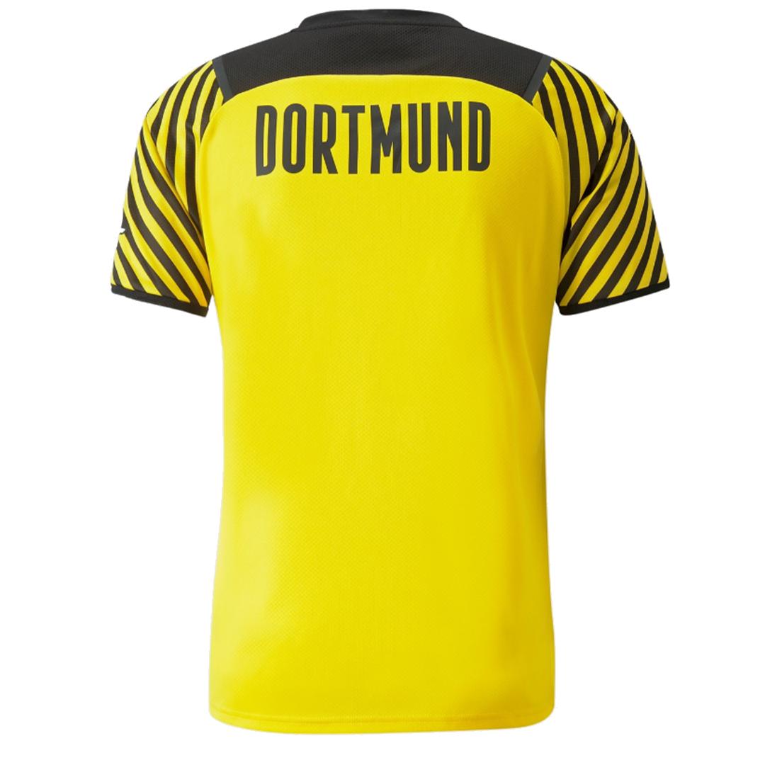 Borussia Dortmund Jersey Home Soccer Jersey 2021/22