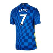 Chelsea Jersey KANTÉ #7 Custom Home Soccer Jersey 2021/22