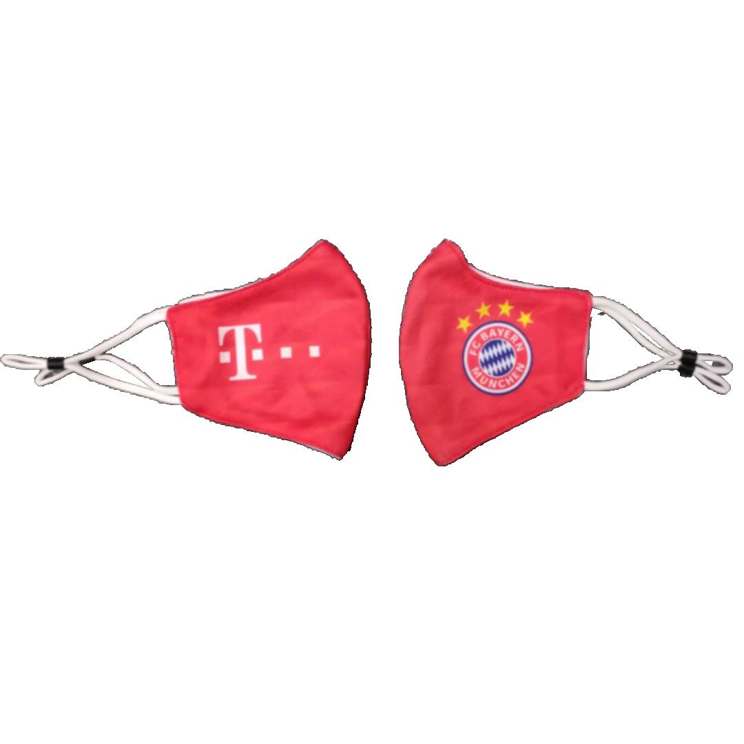 Bayern Munich Soccer Face Mask - Red