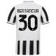Juventus Jersey Custom Home BENTANCUR #30 Soccer Jersey 2021/22