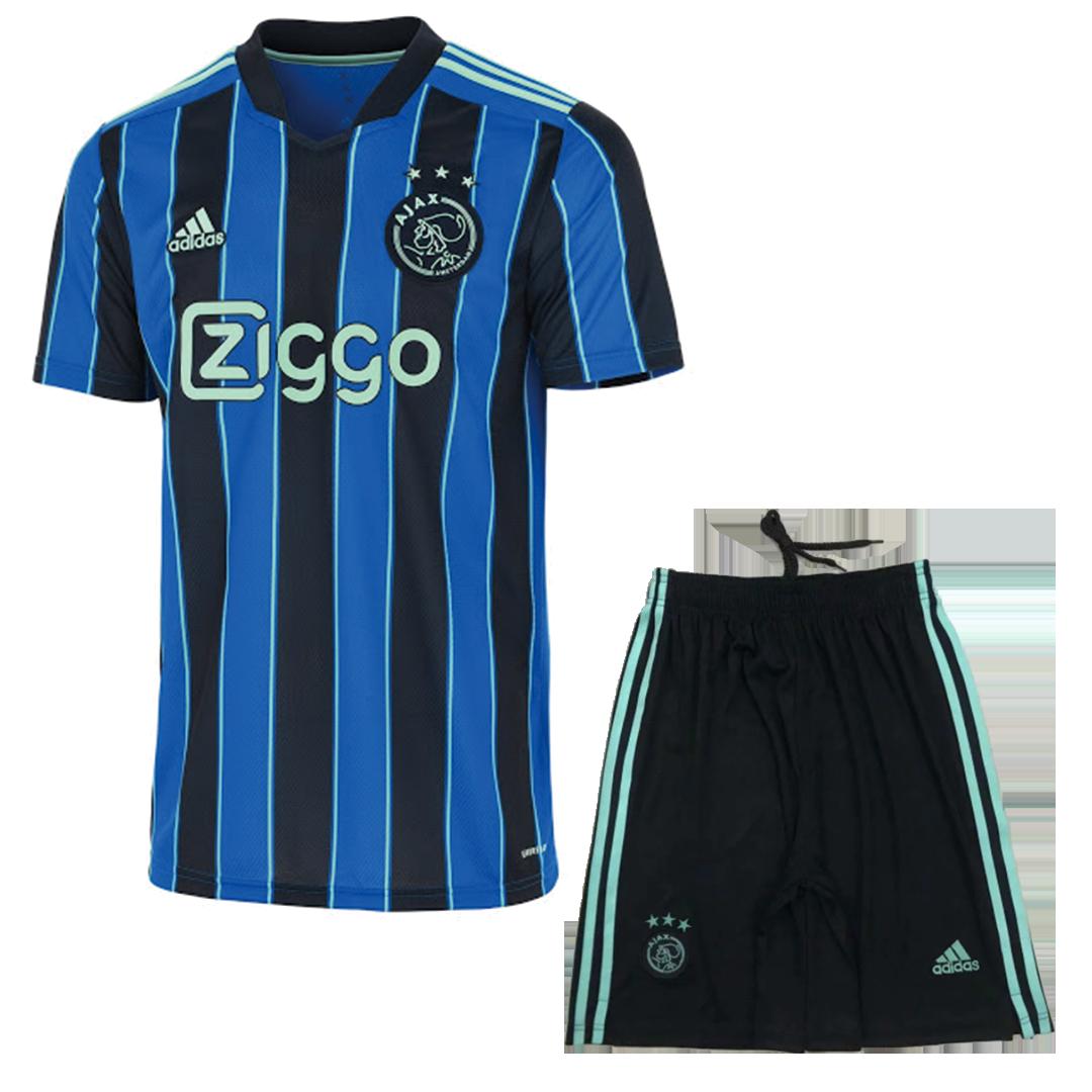 Ajax Jersey Custom Away Soccer Jersey 2021/22