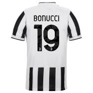 Juventus Jersey Custom Home BONUCCI #19 Soccer Jersey 2021/22