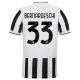 Juventus Jersey Custom Home BERNARDESCHI #33 Soccer Jersey 2021/22