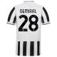Juventus Jersey Custom Home DEMIRAL #28 Soccer Jersey 2021/22