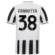 Juventus Jersey Custom Home FRABOTTA #38 Soccer Jersey 2021/22