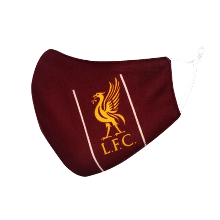 Liverpool Soccer Face Mask - Red