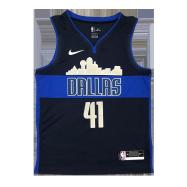 Dallas Mavericks Jersey Nowitzki #41 NBA Jersey