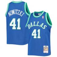 Dallas Mavericks Jersey Dirk Nowitzki #41 NBA Jersey 1998/99