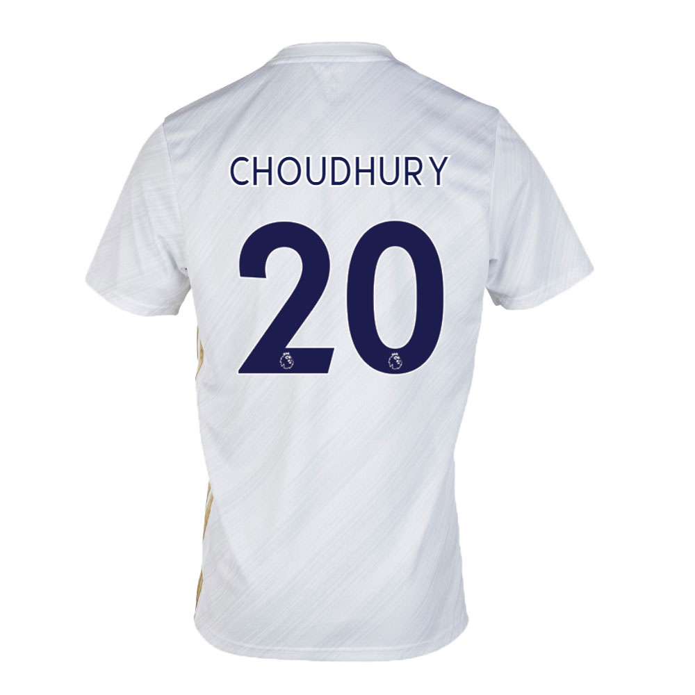 Leicester City Jersey Away CHOUDHURY #20 Soccer Jersey 2020/21
