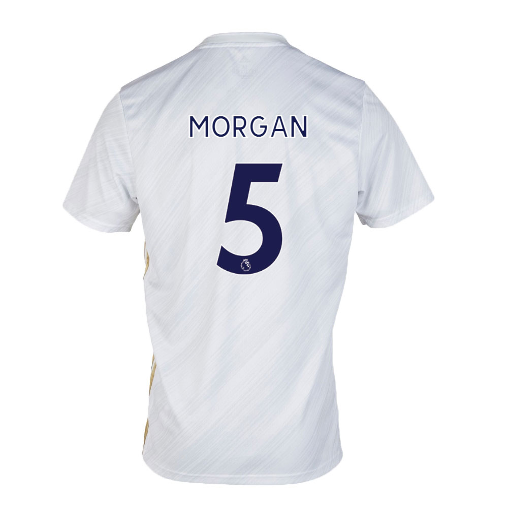 Leicester City Jersey Away MORGAN #5 Soccer Jersey 2020/21