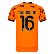 Juventus Jersey Custom Third Away CUADRADO #16 Soccer Jersey 2020/21