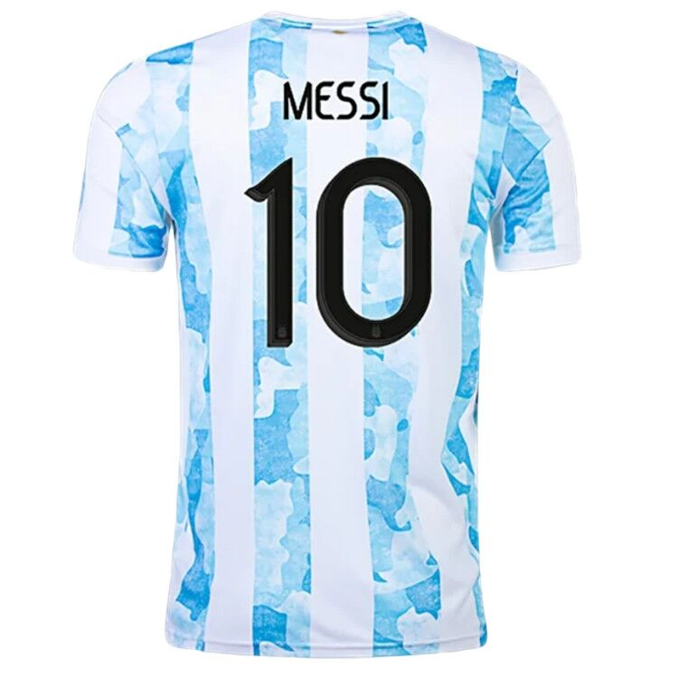Argentina Jersey Custom Home MESSI #10 Soccer Jersey 2021