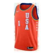 New Orleans Pelicans Jersey Zion Williamson #1 NBA Jersey 2020