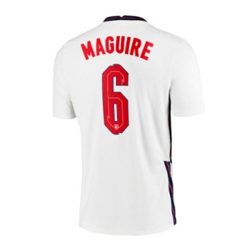 England Jersey Custom Home MAGUIRE #6 Soccer Jersey 2020