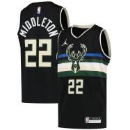 Milwaukee Bucks Jersey Bucks Middleton #22 NBA Jersey 2020/21