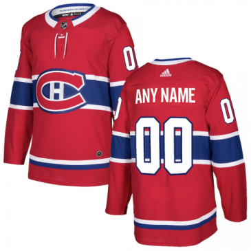 Montreal Canadiens Jersey Custom NHL Jersey