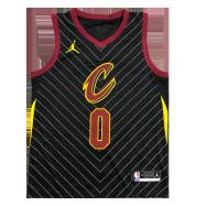 Cleveland Cavaliers Kevin Love #0 Jordan Black Swingman NBA Jersey - Statement Edition