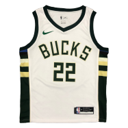 Milwaukee Bucks Jersey Khris Middleton #22 NBA Jersey 2020/21