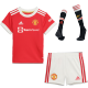 Manchester United Jersey Custom Home Soccer Jersey 2021/22