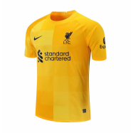 Liverpool Jersey Custom Goalkeeper Soccer Jersey 2021/22