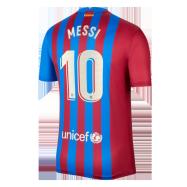 Barcelona Jersey Custom Home MESSI #10 Soccer Jersey 2021/22