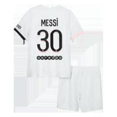 PSG Jersey Messi #30 Custom Away Soccer Jersey 2021/22
