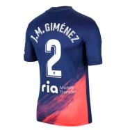 Atletico Madrid Jersey Custom Away J.M.GIMÉNEZ #2 Soccer Jersey 2021/22