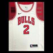 Chicago Bulls Jersey Lonzo Ball #2 NBA Jersey