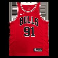 Chicago Bulls Jersey Dennis Rodman #91 NBA Jersey