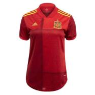 Spain Custom Jersey Home Soccer Jersey 2020/21
