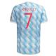 Manchester United Jersey Custom Away RONALDO #7 Soccer Jersey 2021/22