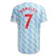 Manchester United Jersey RONALDO #7 Custom Away Soccer Jersey 2021/22