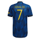 Manchester United Jersey RONALDO #7 Custom Third Away Soccer Jersey 2021/22