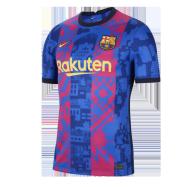 Barcelona Jersey Third Away Soccer Jersey 2021/22